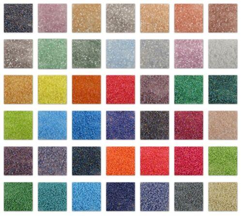 Delica 11/0 Miyuki Seed Beads #801-884