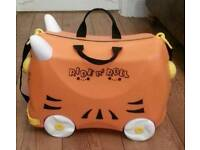 Ride N Roll Suitcase (As New, On Show) FREE DELIVERY