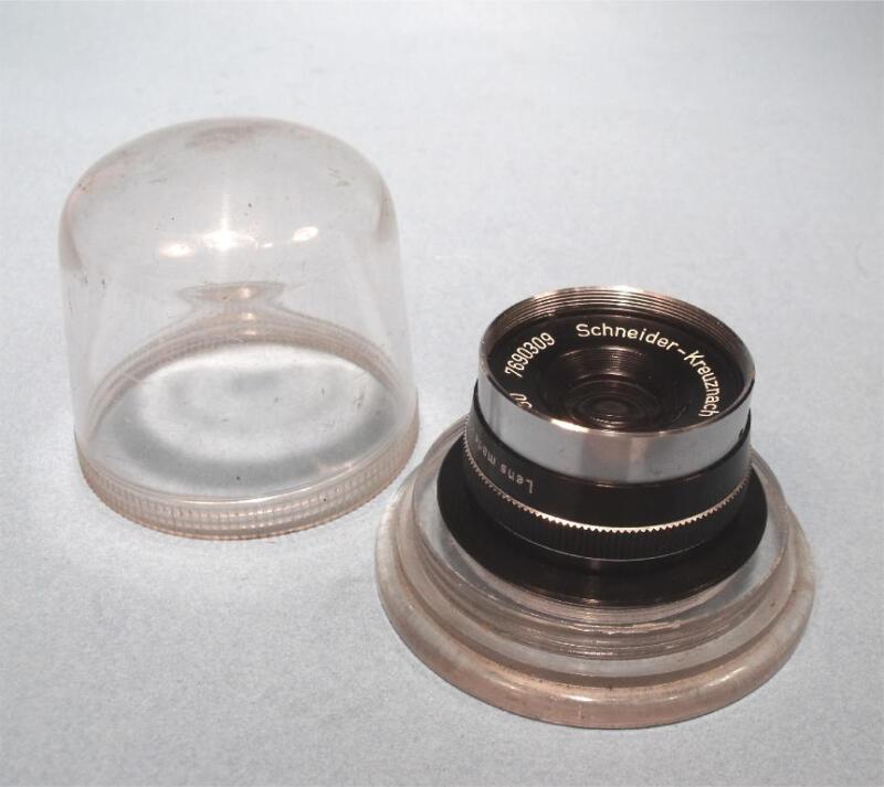 Excellent Schneider Kreuznach Componar 50mm f/4.5 Enlarging Lens w/ Bubble Case