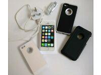 iPhone 5c 16gb Unlocked White Customised front
