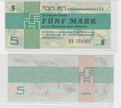 5 Mark DDR Banknoten Forum Scheck 1979 (117445)