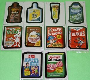 WACKY-PACKAGES-ANS7-16-CARD-BONUS-CEREAL-SET-B1-B4C1-C6