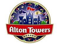Alton Towers Tickets - Most Date Available from 30th March - 30th October 2018