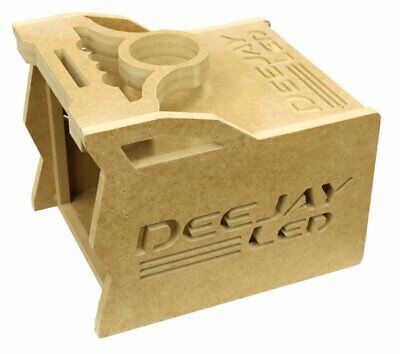 Deejayled TBH1DIN4EQ 1 Din Space 4 Eq Stylish Wooden Controller Case For Mobile