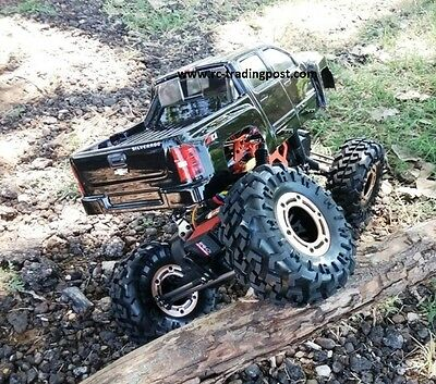 Silverado 2500 Custom Painted 4X4 RC Rock Crawler RockslideRS10 4 Wheel Steering