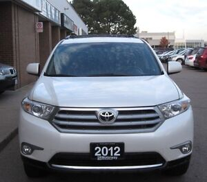 2012 Toyota Highlander Sport with leather and camera