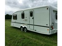 Super Twin Axle Caravan Abi Award 4 berth end washroom, shower and more!