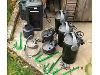 Eheim ecco pro and professional 3 aquarium external canister filters