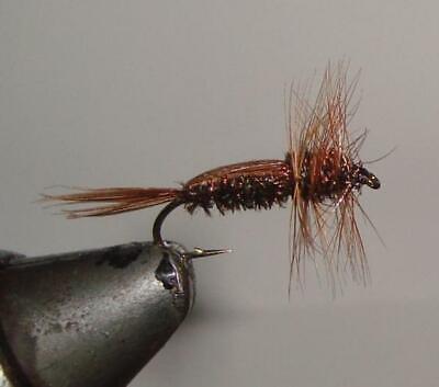 Lot 4 Custom Angler Size 8 Half Back Fly Fishing Flies