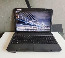 ACER 5738/ INTEL 2.00 GHz/ 4 GB Ram/ 320 GB HDD/ WEBCAM/ HDMI - WIN 7