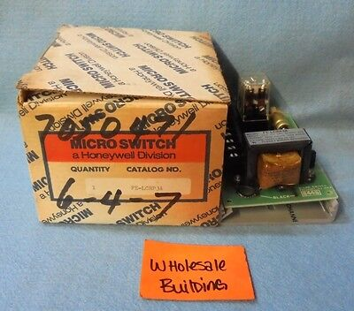 Honeywell Micro Switch Power Supply Panel Board Fe-lcrp3a 8-pin Relay