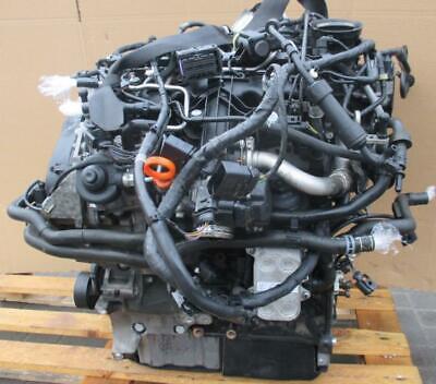 Motor VW Golf Passat Tiguan Superb Audi A3 Q3 2.0 TDi 59.000 km KOMPLETT CFG !