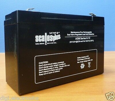 12V 9AH Rechargeable Valve Regulated Sealed Lead Acid Battery 20HR VRLA SLA Valve-regulated Lead