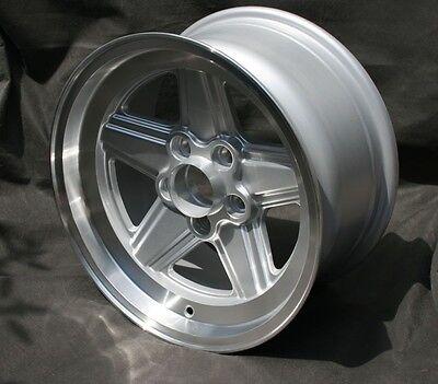 4 Mercedes W 107, 108, 116, 123, 126 Penta Design Felgen 8x16 TÜV Teilegutachten