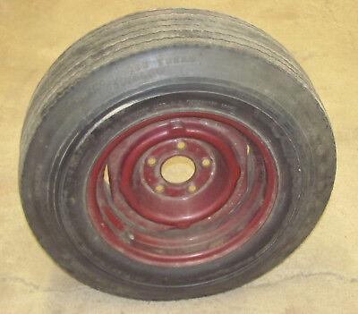 74 Camaro Nova Original 14X7 Wheel & F70 14 Tire Chevy
