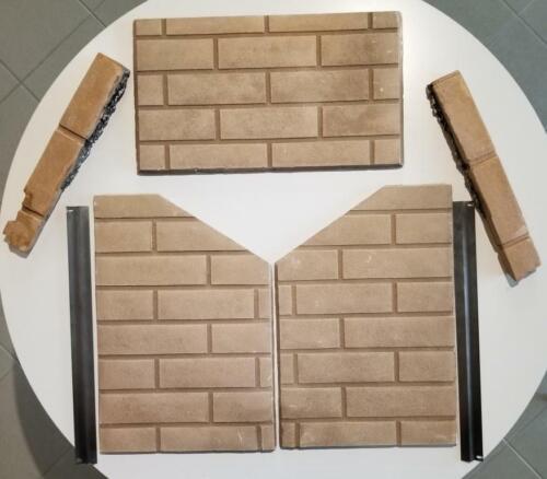 Decorative Brick Panel for Napoleon GD 70 / Continental CDV70 Fireplace