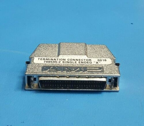 """Termination Connector, Single Ended """"A"""" , AMP, 749535-2 , With Signal"""