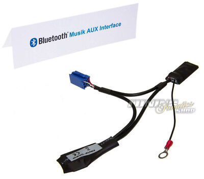 BT Bluetooth Adapter Mp3 Aux CD Changer 8p for Ford Radio Sound 2 Mfd Rns #5961