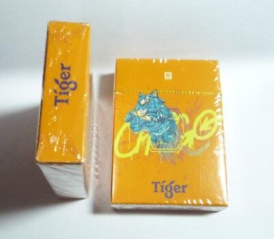 MALAYSIA Playing Cards TIGER BEER Year of TIGER 2001 Gold Guinness Anchor