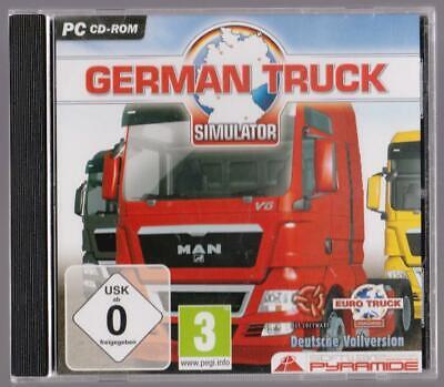 German Truck Simulator Bauen sie ein Unternehmen auf 18 Städte LKW PC Spiele (Truck Simulator Pc Spiele)