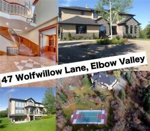 47 WOLFWILLOW LN Elbow Valley Estates, Rural Rocky View County,