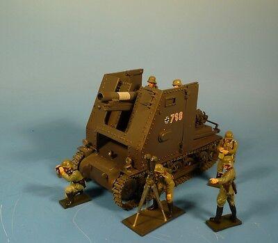 Orig.Lineol (Elastolin) Wehrmacht – Metall – Sturmpanzer I Bison -für 7cmFiguren