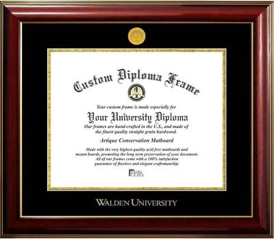 Diploma Frame Deals Walden University Classic Picture Frame
