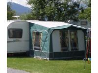 Dorema Caravan Porch Awning, Sleeping Extension, Wheel stand, Aluminium Step and Ramp.