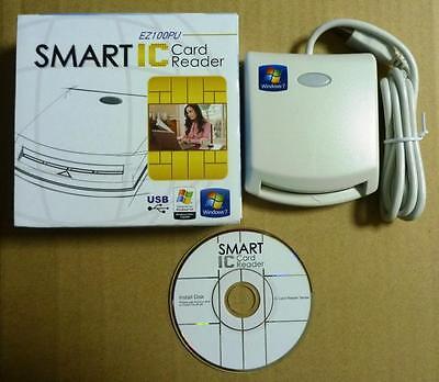 10pcs x EZ100PU SmartCard reader Win7/10 Mac Taiwan for Malaysia/Singapore