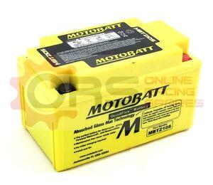 4-MBTZ10S MOTOBATT BATTERY HONDA CB600 CB900 HORNET, CBR600 F4i, CBR600RR, NT650