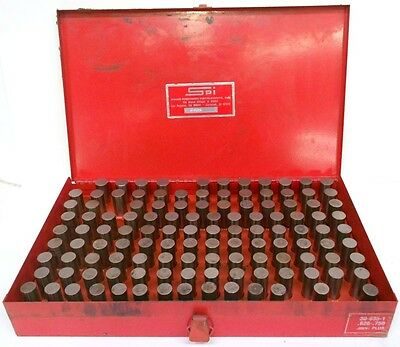 Spi Swiss Precision Instruments 30-935-1 Plug Gage Set