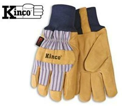 Kinco 1927KW Insulated Leather Winter Work Glove With Knit Wrist - Xlarge