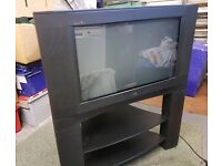 26 inch JVC TV and stand