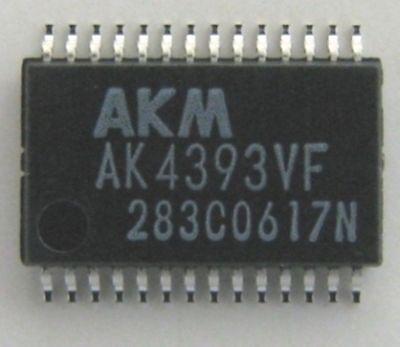 Akm Ak4393vf Sso28 Advanced Multi-bit 96khz 24-bit Dac