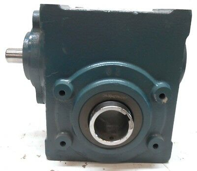 DODGE TIGEAR 2, RIGHT ANGLE WORM GEAR SPEED REDUCER, 26S05HA, 5:1,USED
