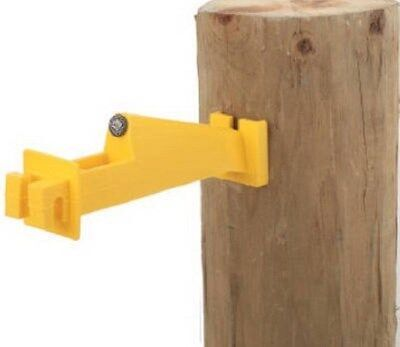 Dare Woodex 5 Wp Wood Post Insulator Extender For Electric Fence 10 Ct.