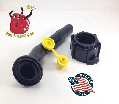 1 - Blitz Gas Can Nozzle Spout Ring Vent Replacement Vintage Diesel Plastic New