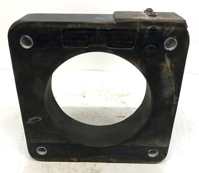 General Electric Current Transformer Type Jah-0 Cat No B37x66 Ratio 15005a