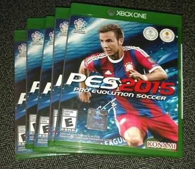 PES 2015 PRO EVOLUTION SOCCER - MICROSOFT XBOX ONE - FREE S/H - (H) for sale  Shipping to Nigeria