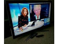 """SAMSUNG 46""""3D INTERNET LED TV FULL HD BUILT IN FREEVIEW EXCELLENT CONDITION REMOTE FULLY WORKING"""