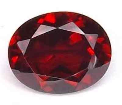 Dark Lab ( Synthetic Lab Created Dark Red Ruby AAA Corundum Oval Loose Stone)