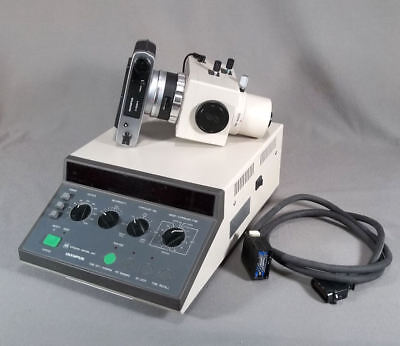 Olympus Microscope Camera And Exposure Control Unit Pm-cbsp And Pm-10ads