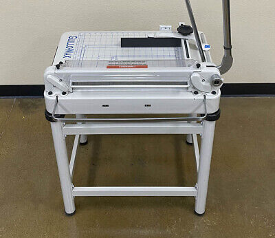 Guillo Max 17 Manual Paper Cutter With Stand Triumph Challenge Gbc