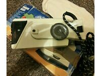 VAX TRAVEL STEAM IRON used ONCE only great Condition...