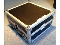 Mixer Rack Flight case 10U +2U