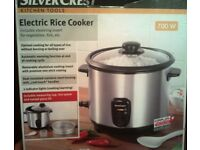 New Silver Crest Electric Rice Cooker / Steamer in Annalong