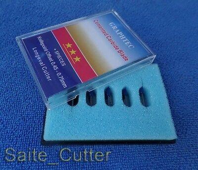 5 Pcs 60 Degree Graphtec Cb09 Cutting Plotter Blades Vinyl Cutter Plotter Knife