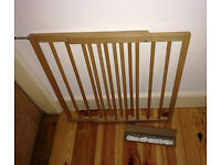 BabyDan Extending Wooden Safety Gate