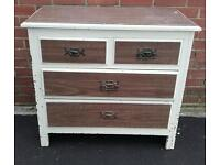 Solid Wood Chest of Drawers for Upcycling