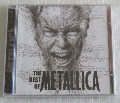 METALLICA THE BEST OF CD MADE IN BRAZIL THE MEMORY REMAINS HERO OF THE DAY